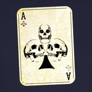 Ace of Skulls - Männer Bio-T-Shirt