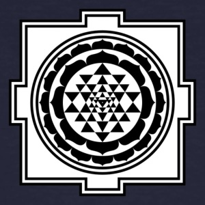 600px SriYantra svg - Men's Organic T-shirt
