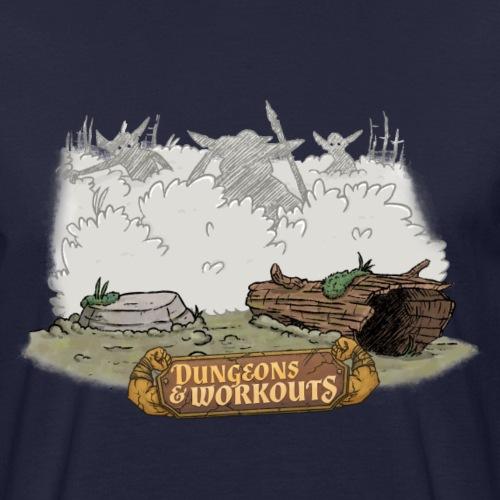 Goblins im Busch - Männer Bio-T-Shirt
