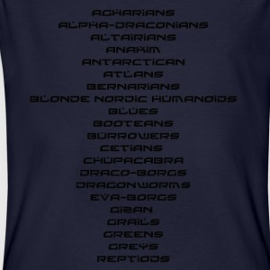 Alien Species - T-shirt ecologica da uomo