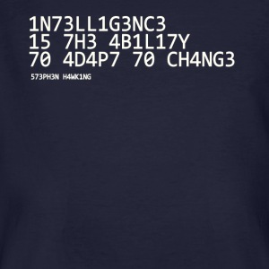 Intelligence wit - Mannen Bio-T-shirt