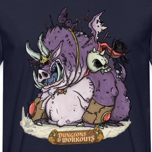 Der Schweinhund - Männer Bio-T-Shirt