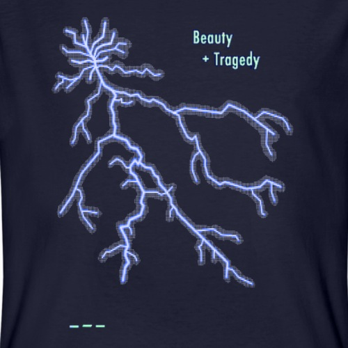 Beauty and Tragedy - Men's Organic T-shirt