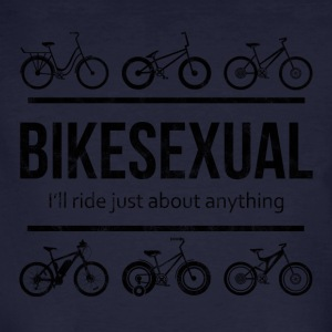 BIKE SEXUAL - Mannen Bio-T-shirt