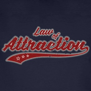 Law of Attraction Vintage - Men's Organic T-shirt