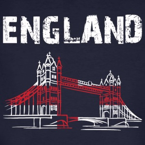 Nation-Design England Tower Bridge - Men's Organic T-shirt