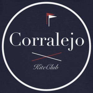 CORRALEJO 175x175 white gray - Men's Organic T-shirt