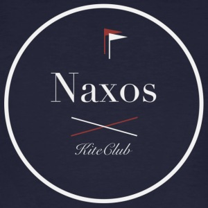 NAXOS 175x175 white gray - Men's Organic T-shirt