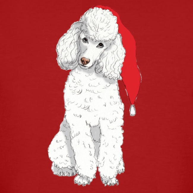 Poodle toy W - christmas