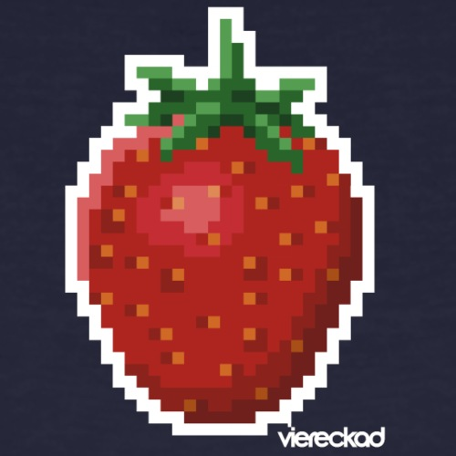 Erdbeer - Männer Bio-T-Shirt