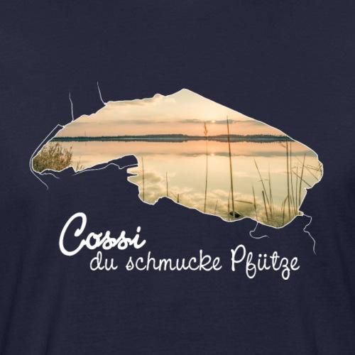 Cospudener See (weiß) - Männer Bio-T-Shirt