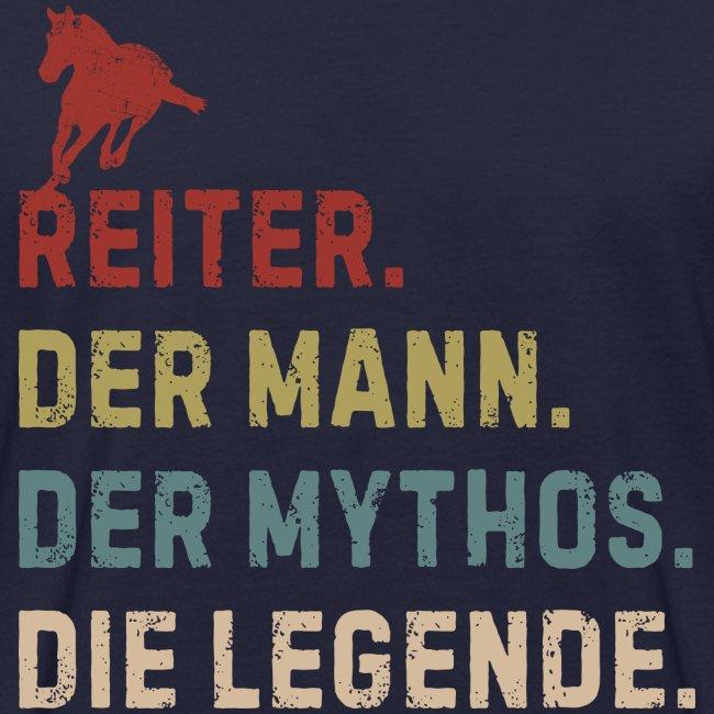 Vorschau: reiter legende - Männer Bio-T-Shirt