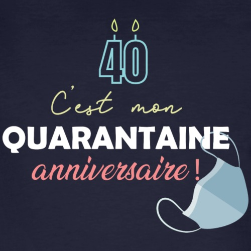 quarantaine - T-shirt bio Homme