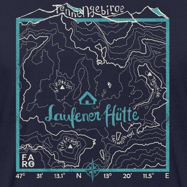 Laufener Hütte im Tennengebirge - Smalt Blue