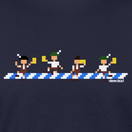 Der Maibaum-Coup - Männer Bio-T-Shirt