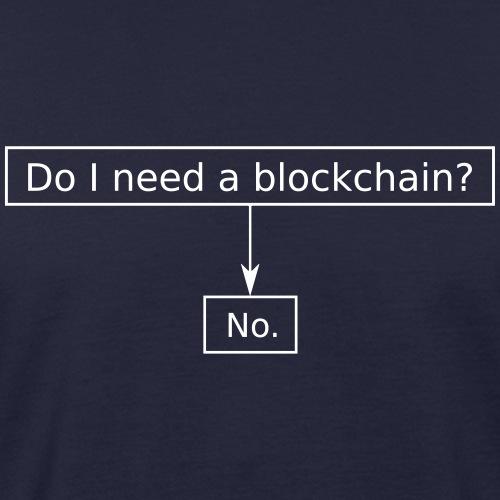 blockchain2 - Männer Bio-T-Shirt
