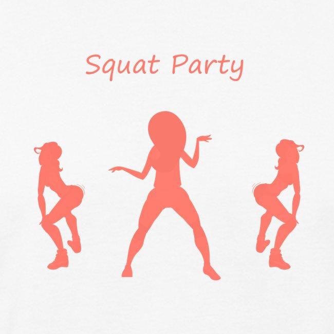 Squat party corail