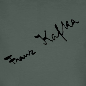 Franz Kafka signature - Men's Organic T-shirt