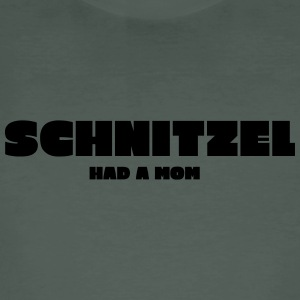 Schnitzel had a Mom - Men's Organic T-shirt
