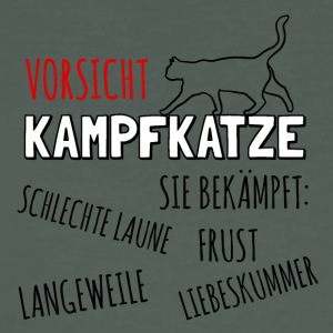 Attention Kampfkatze - T-shirt bio Homme