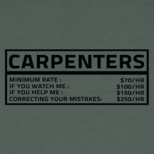 Carpenter: Carpenters Council - Men's Organic T-shirt