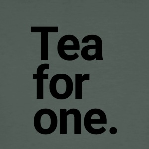 Tea for one - The Happy Single - Men's Organic T-shirt