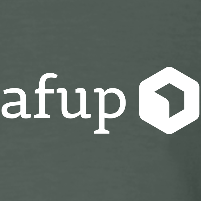 Logo AFUP Blanc