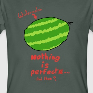 Watermelon - Nothing is perfect - Men's Organic T-shirt
