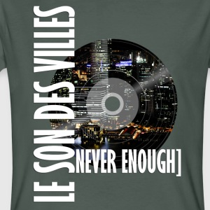 The Sound Of Cities: Mondo vinile - T-shirt ecologica da uomo
