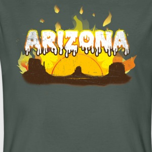 Arizona Meltdown - Männer Bio-T-Shirt