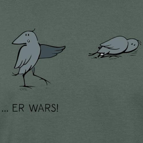 Kra he er wars - Männer Bio-T-Shirt