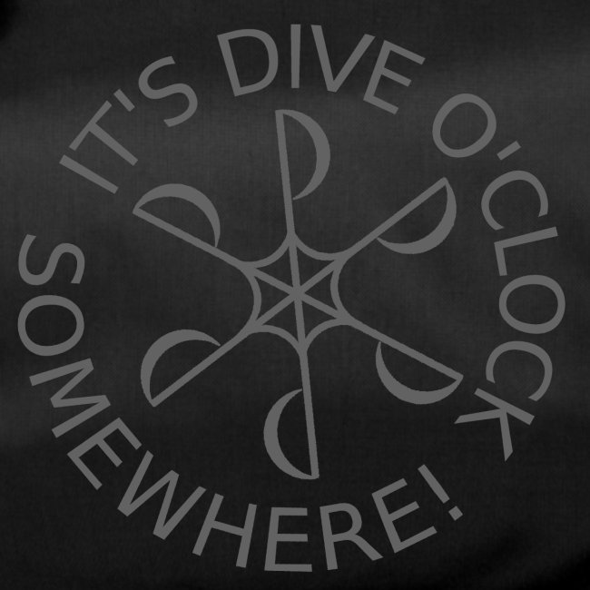 Dive o clock Dark Grey