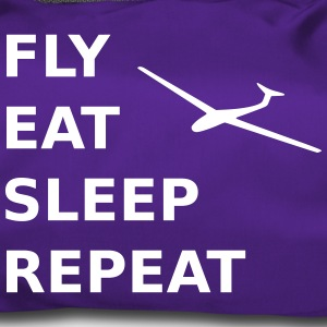 fly eat sleep repeat - Sporttasche