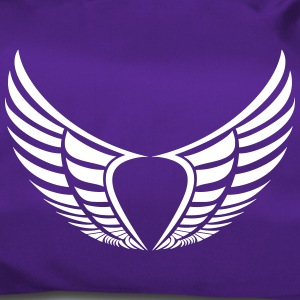 2 wings heart - Duffel Bag