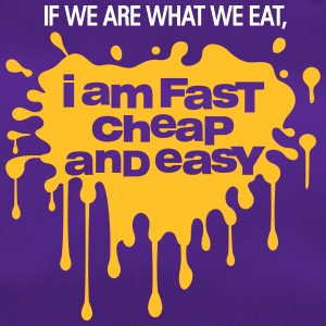 If We Are What We Eat, I'm Fast,Cheap And Easy! - Duffel Bag