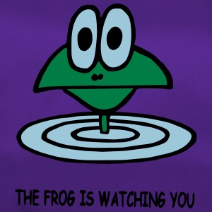 the frog is watching you - Sporttasche