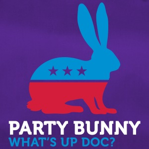 Political Party Animals: Bunny - Duffel Bag