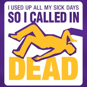 I Signed Up Dead At Work! - Duffel Bag