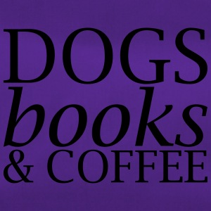 Dogs Books and Coffee - Duffel Bag