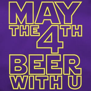 May the 4th beer with you - Funny T-Shirt - Sporttasche