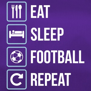Eat Sleep Football Repeat - Duffel Bag