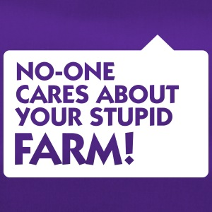 Nobody Cares About Your Farm! - Duffel Bag