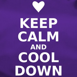 keep calm and cool down - Sporttasche