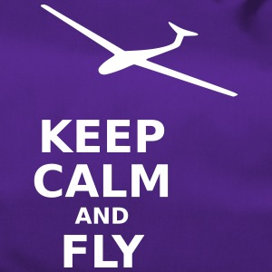 Keep calm and fly - Duffel Bag