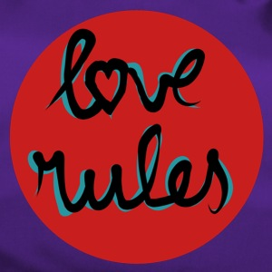Love rules - Duffel Bag