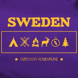 Zweden Outdoor Adventure Symbolen - Sporttas