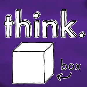 Think Outside The Box Illustrazione - Borsa sportiva