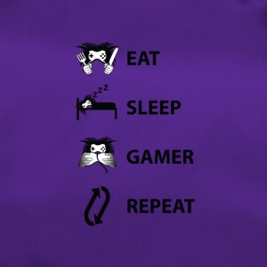 Eat Sleep Gjenta Gamer - Sportsbag