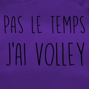 pas le temps volley - Sac de sport
