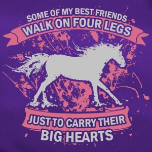 Heart for horses - Duffel Bag